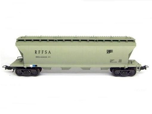 Vagão Hopper Tanque HES (646156-51) RFFSA - Frateschi - HO