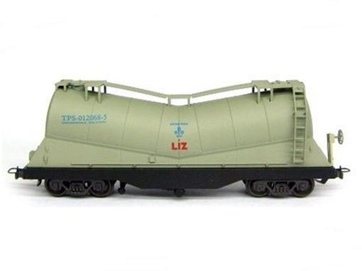 Vagão Tanque Cimento TPS (012068-5) LIZ - HO - Frateschi