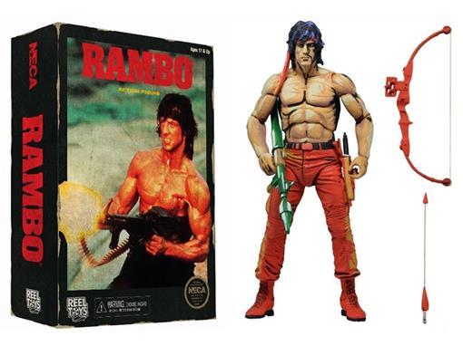 Boneco Rambo (Classic Video Game) - Neca