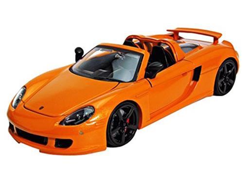 Porsche: Carrera GT - Jada - Laranja - 1:24