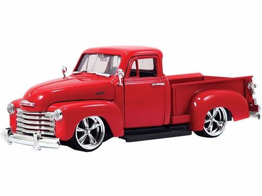 Chevrolet: Pickup (1953) - Vermelha - 1:24 - Jada