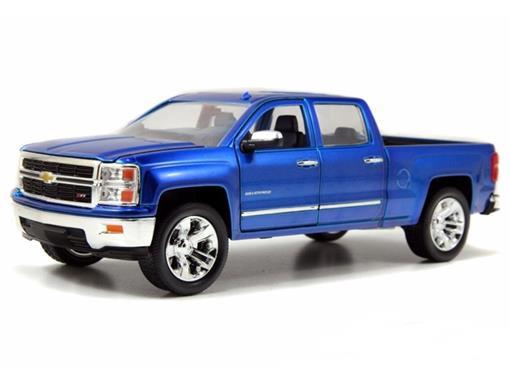 Chevrolet: Silverado (2014) - Azul - Jada - 1:24