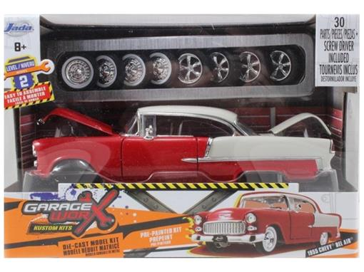Chevrolet: Bel Air (1955) - Kit de Montar - Jada - 1:24