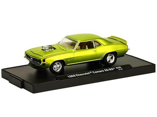 Chevrolet: Camaro SS/RS (1969) Verde - M2 Machines - 1:64