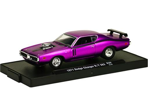 Dodge: Charger R/T 383 (1971) Rosa - M2 Machines - 1:64