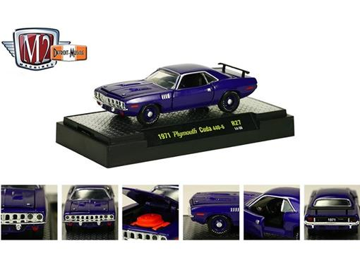 Plymouth: Cuda 440-6 (1971) Auto-Muscle - M2 Machines - 1:64