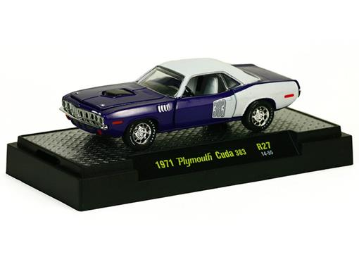Plymouth: Cuda 383 (1971) Auto-Muscle - M2 Machines - 1:64