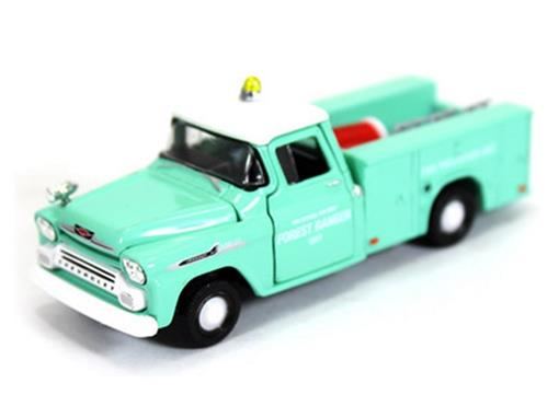 Chevrolet: Apache Brush Truck (1958) Auto-Trucks - M2 Machines - 1:64