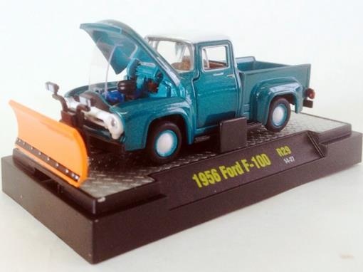 Ford: F-100 (1956) Auto-Trucks - Verde - M2 Machines - 1:64