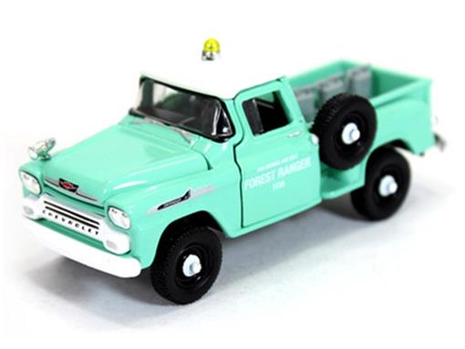 Chevrolet: Apache 4x4 (1958) Auto-Trucks - M2 Machines - 1:64