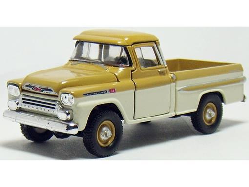 Chevrolet: Apache 4x4 (1959) Auto-Trucks - M2 Machines - 1:64