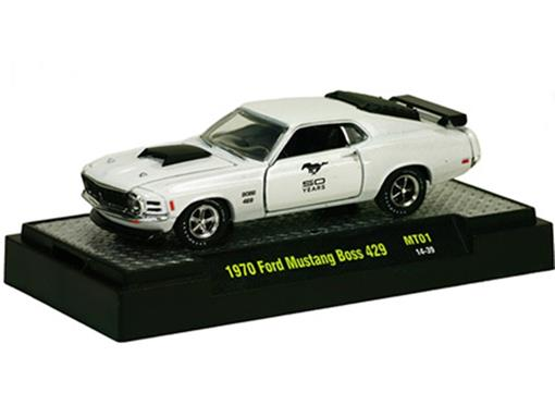 Ford: Mustang Boss 429 (1970) - 50 Years - 1:64 - M2 Machines
