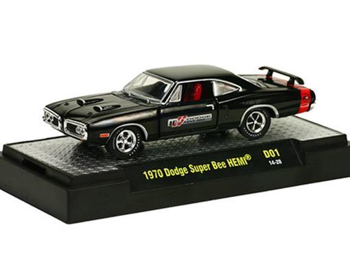 Dodge: Super Bee HEMI (1970) 100th Anniversary - M2 Machines - 1:64