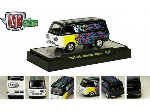 Ford: Econoline Van Custom (1965) Preto - M2 Machines - 1:64