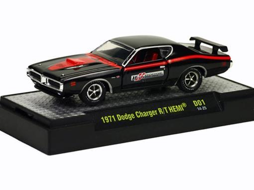 Dodge: Charger R/T HEMI (1971) 100th Anniversary - M2 Machines - 1:64