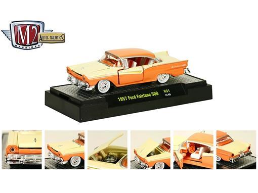 Ford: Fairlane 500 (1957) Auto Thentics - M2 Machines - 1:64