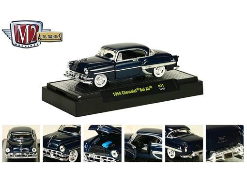 Chevrolet: Bel Air (1954) Azul - M2 Machines - 1:64