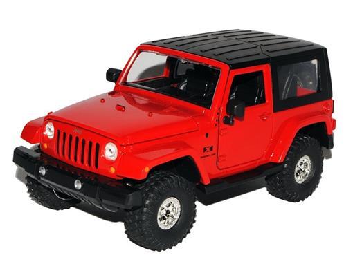 Jeep: Wrangler - Off Road (2007) Vermelho - Jada - 1:24
