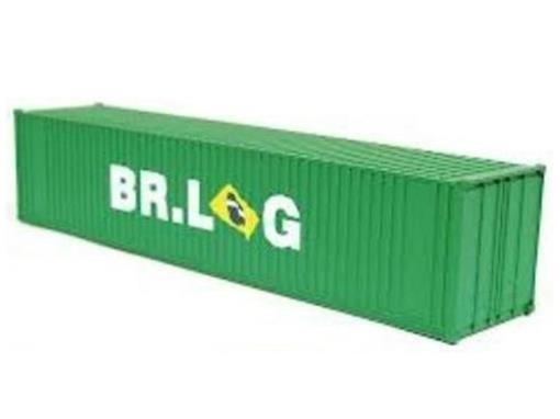 Container 40' BR.LOG - Verde -  FRATESCHI - HO