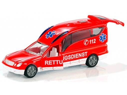 Mercedes Benz: Ambulância - Siku - 1:55