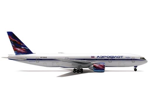 Aeroflot Russian Airlines: Boeing 777-200 - Herpa - 1:400