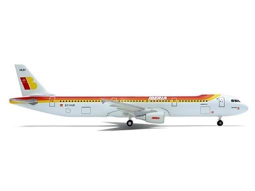 Airbus A321: Iberia - Herpa - 1:400
