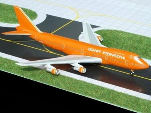 Braniff International: Boeing 747-200 - Gemini Jets - 1:400