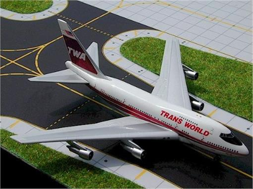 TWA: Boeing 747SP - Gemini Jets - 1:400