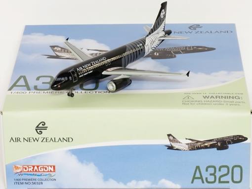 Air New Zealand: Airbus A320 - Dragon - 1:400