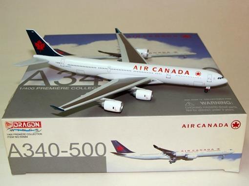Air Canada: Airbus A340-500 - Dragon Wings - 1:400