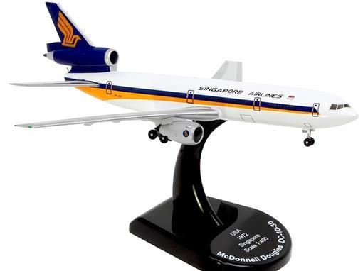 Singapore: McDonnell Douglas DC-10-30 - Model Power - 1:400