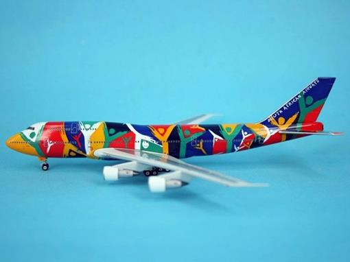 South African Airways: Boeing 747-300 - Phoenix - 1:400