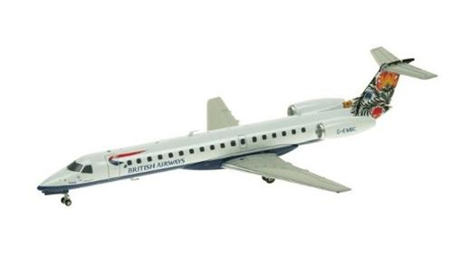 British Airways: Embraer ERJ-145 - Inflight - 1:200