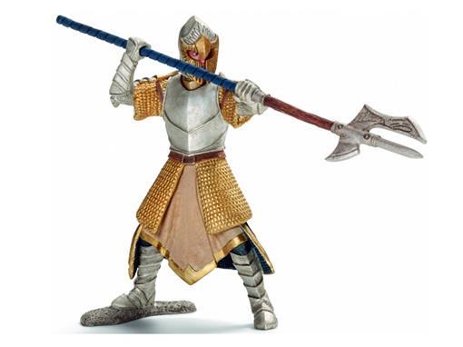 Boneco Cavaleiro Griffin com Polo de Braço