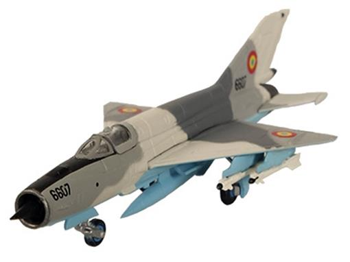 Romanian Air Force: Mikoyan Mig-21 Lancer 1st Squadron - Herpa - 1:200