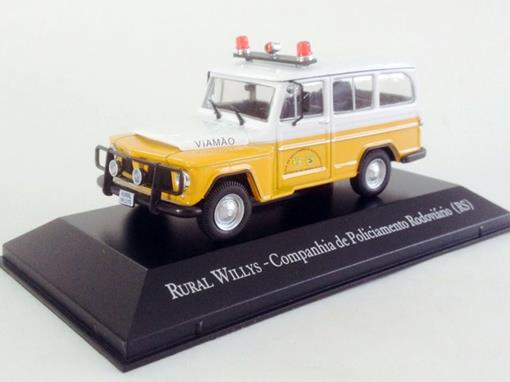 Willys: Rural - Companhia de Policiamento Rodoviário (RS) - 1:43 - Ixo