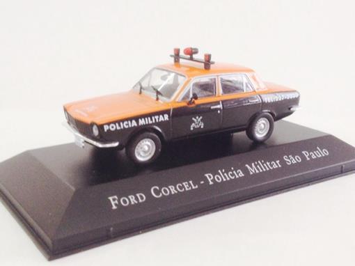 Ford: Corcel - Polícia Militar São Paulo - 1:43 - Ixo
