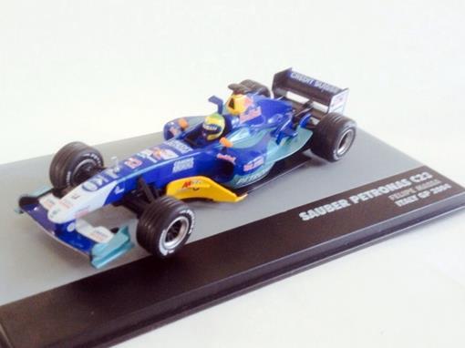 Sauber Petronas: C23 - Felipe Massa - Italy GP 2004 - 1:43 - Ixo