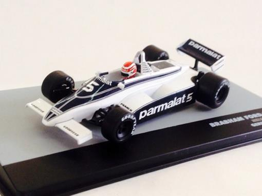 Brabham Ford: BT49C - Nelson Piquet - Germany GP 1981 - 1:43 - Ixo