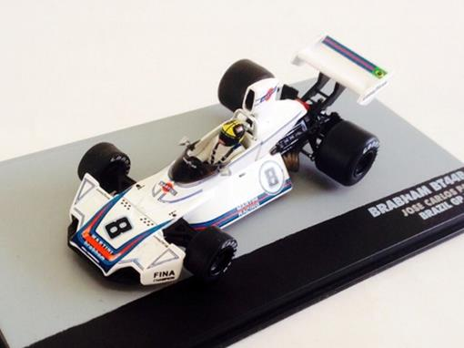 Brabham: BT44B - Jose Carlos Pace - Brazil GP 1975 - 1:43 - Ixo