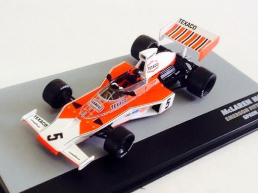 McLaren: M23 - Emerson Fittipaldi - Spain GP 1974 - 1:43 - Ixo