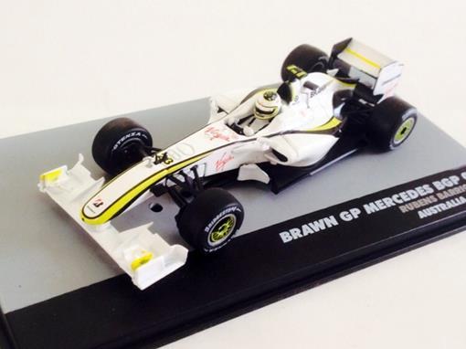 Brawn GP Mercedes: BGP 001 - Rubens Barrichello - Australia GP 2009 - 1:43 - Ixo