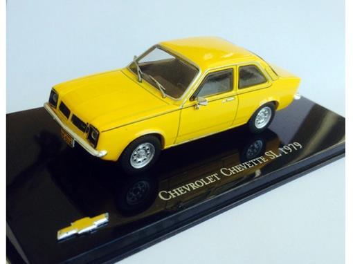 Chevrolet: Chevette SL (1979) Amarelo - 1:43 - Ixo