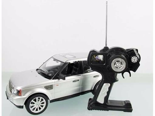 Land Rover: Range Rover Sport - Prata - Controle Remoto - 1:14 - Rastar