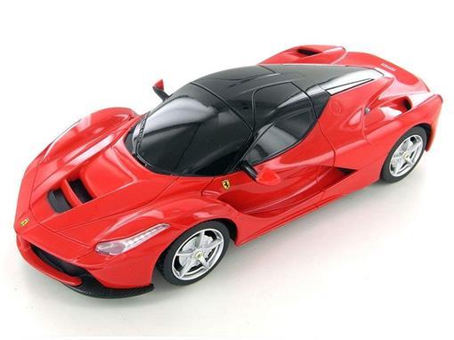 Ferrari: LaFerrari - Vermelha - Controle Remoto - 1:24 - Rastar