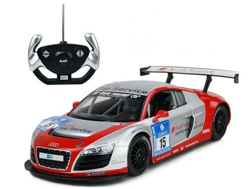Audi: R8 LMS #15 - Controle Remoto - 1:14 - Rastar