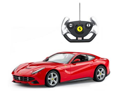 Ferrari: F12 Berlinetta - Vermelha - Controle Remoto - 1:14 - Rastar
