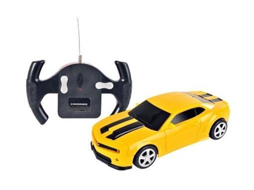 Chevrolet: Camaro - Controle Remoto - Amarelo - 1:24