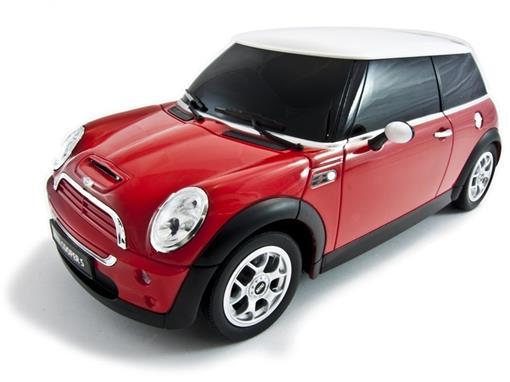 Mini Cooper: S - Vermelho - Controle Remoto - 1:14 - Rastar