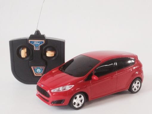 Ford: Fiesta - Controle Remoto - Vermelho - 1:24